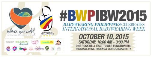 *Photo credit: Babywearing Philippines
