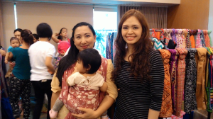 With one of BWP's lovely admin, Margaux. :-)