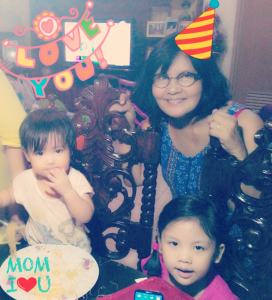 Happy birthday, grandma! We love you and your pancit. <3