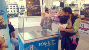 Fog City Creamery Their ice cream contain no preservatives or artificial stabilizers. <3
