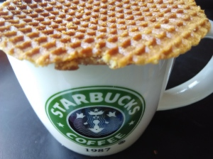 Stroopwaffles are awesome!