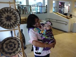 Babywearing Grandma :-)